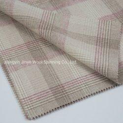 Verificação Tartan clássico tecido de lã para Mulher, Elegância Desgaste de moda