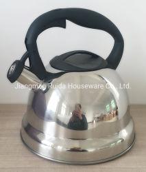 Impresionante el precio de utensilios de cocina Juegos de acero inoxidable de 3,0 litros hervidor de agua de alimentación de color silbido Coating