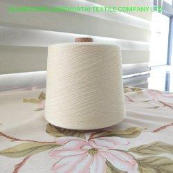 Tecelagem de fio de algodão isento de contaminação Ne80S/2