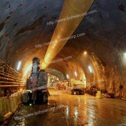 Túnel de mineração subterrânea do duto de ar de ventilação