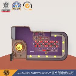Casino de Lujo dedicados profesionales de la mesa de póquer ruleta ruleta fabricación puede ser personalizado para el jugador (YM-RT02)
