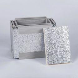 열 차폐를 위한을%s 입히는 돋을새김된 알루미늄