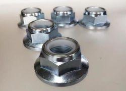 JIS B 1199 Non-Metallic вставьте сложившихся типа требуемым моментом болты с шестигранной головкой со стопорными гайками с фланцем