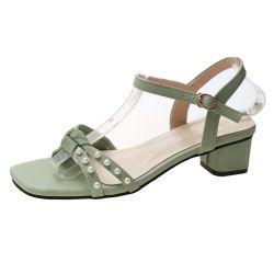 Alta elegantes Sapatos de salto sapatas das mulheres com Bowknot e cordões