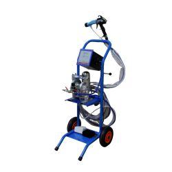 Machine de pulvérisation de peinture électrostatique