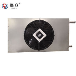 Radiador de latón de alta calidad Ventilador de bobina del condensador de aire acondicionado AC