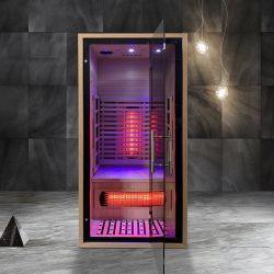 رفاهيّة تحت أحمر [سليد ووود] رئيسيّة مادّيّة أوزون [سونا] غرفة