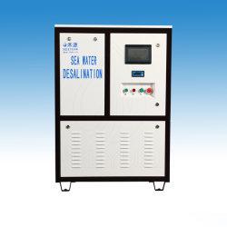 2500 litros/día el agua de mar del equipo del sistema de desalación por ósmosis inversa