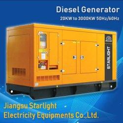 60 Ква-1000Ква Shangchai электрический бесшумный дизельный генератор 4 цикл дизельного двигателя генераторах