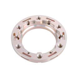 كوبر عالي الجودة مع قطع CNC المصنعة بالمكاكينات المصنوعة من الألومنيوم الماكون قطع الفولاذ أجزاء معدنية مطلية بطبقة من الأكسيد