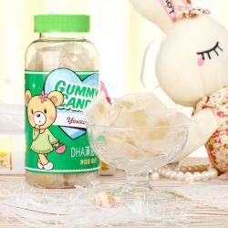 Rótulo personalizado com sabor natural de vitamina D3 Gomoso
