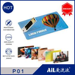 precio de fábrica 2GB 4GB 8GB Tarjeta de plástico ABS de disco Flash USB