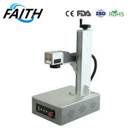 Maandelijkse aanbiedingen Faith Portable Mini Fiber Laser Marking machine 3D Metaallaserprinter 10% korting