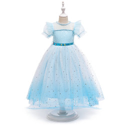 Новый 2021 Рождество платья моды детей Детский Одежда Одежда партии износ одежды детского платья детские продукты летом одежды яркий девочка-платья