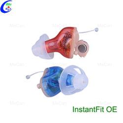La conducción ósea médicos audífonos BTE invisibles Cic Ric Amplificador de sonido en la oreja