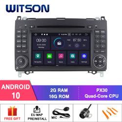 벤즈 차량 라디오를 위한 Witson 인조 인간 10 차 DVD 플레이어