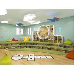 Cowboy de alta calidad de la habitación de la biblioteca de aula preescolar estantería estantería muebles para niños
