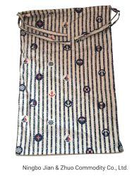 Custom многоразовые здоровых и гигиенических хлопка хлеб Bag веревки чертеж мешок