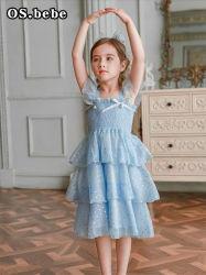 Venta caliente niña vestido de fiesta desgaste de la parte oeste de vestido para niña. Los niños el desgaste. Ropa de niña. Los niños la ropa.
