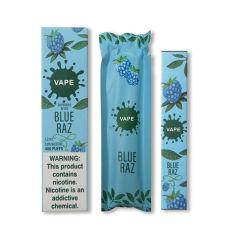 Всплывающие окна одноразовые Vape перо 400 отшелушивающей подушечкой Vape Pod электронных сигарет