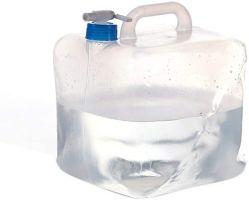 5 litros de agua desmontable contenedor, sin BPA, portador de agua de plástico plegable exterior bolsa de agua para el deporte Camping Caballo montañero