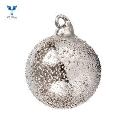 De Hangende Ornamenten van de Bal van het Glas van de Decoratie van de kerstboom
