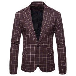 Novo Estilo Blazer para homem homens Casual Suit personalizado Homem Prensa