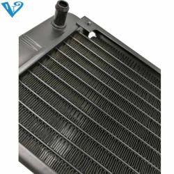 Venttk 2 Heatpipe Aluminiumkühlkörper CPU-Prozessor-Kühler-abkühlende Kühlvorrichtung