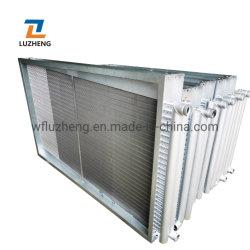 Radiador de acero de aluminio para las aves de corral trasero pintado el intercambiador de calor de tubo de aletas de refrigeración y calefacción