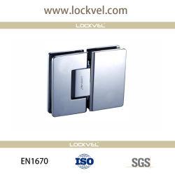 Pt1670 Certificada da dobradiça da porta de duche de latão utilizado em 180 graus de vidro sem caixilho para vidro, acessórios de casa de banho