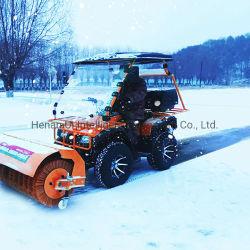محرك بنزين قوي آليات مسح الثلج بالجرار رباعي العجلات