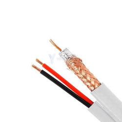 سعر تنافسي اتصال 59 Coaxial + 2 core القوة Siamese الكابل لمدة معتمد من CATV Digital UL/ETL/CPR/CE/RoHS/REACH من CCTV
