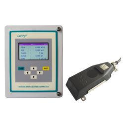 Canal abierto medidor de flujo ultrasónico Doppler los dispositivos de medición de flujo
