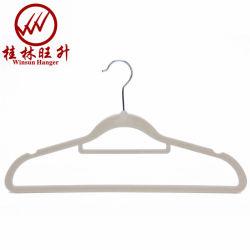 Weiße gespritzte Gleichheit-Stab-rutschfeste Schulter Gament Bildschirmanzeige-Kleidung-Aufhängung