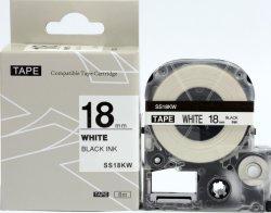 Puty Ss18kw draagbare klevende plakband compatibel met Epson&Kingjim Printer