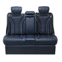Jyjx056 De Cuero De Lujo Minivan Universal coche eléctrico plegable Asiento trasero con la diapositiva