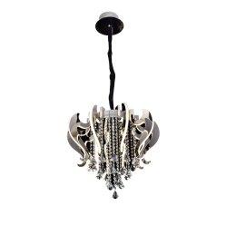 4000K Color lámpara de araña con una clara bola de cristal acrílico LED lámpara colgante para Comedor