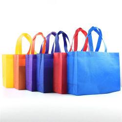 Logotipo colorido de alta qualidade calor ultra-Prima Dom Bag supermercados não tecidos Sacola grande publicidade comercial