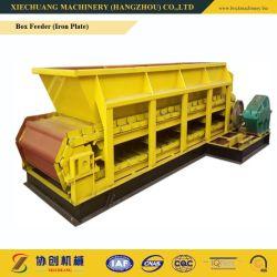 وحدة تغذية علبة تكنيولوجيكاي عالية (لوحة حديدية) آلة صناعة الطوب Gl1000