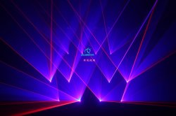 RGB de interiores 6W 10W de luz láser de animación de la etapa de la luz del proyector mostrar