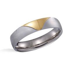 OEM de Giften van de Verlovingsring van het Huwelijk van het Staal van de Professionele Fabriek van Juwelen