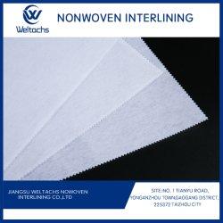 도매 부직포 퓨저블 인터라이닝 100% 폴리에스테르 직물 액세서리 소파 패브릭