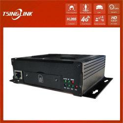 Targa di tracciamento GPS DVR 720p 1080p con riconoscimento facciale Riconoscimento LPR Car School Bus 4G 5g wireless a 4 canali Mdvr