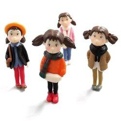사랑스러운 여아용 플라스틱 장난감 그림 데코 선물