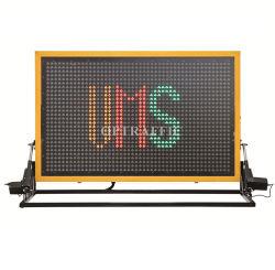 19m 트럭 마운트 LED 디지털 전보국 도로 안전 옥외 소통량 변하기 쉬운 메시지 표시