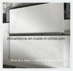 중국 순백색/크리스탈 화이트/스노우 화이트/제이드 화이트 대리석 타일 장식 프로젝트