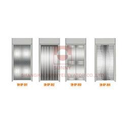 엘리베이터 캐빈 장식용 에칭 스테인리스 스틸 도어 패널(SN-DP-328)