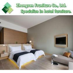 LED moderne MDF laminé lit King Size chambre à coucher Meubles pour un 5 étoiles Crowne Plaza Hotel Room