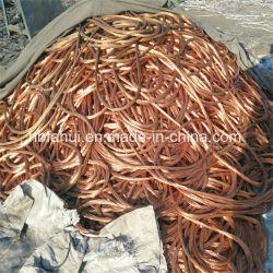 Faible prix de 99,99 % de cuivre de la ferraille Mise au rebut de fil de cuivre