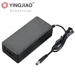 China/Factory Comercio al por mayor 1A/1.2A/1.5A/6A AC/DC de alimentación de conmutación (Desktop Adapter) 100Amp/12V/24V/48V/60W con Ce/RoHS/TUV/UL